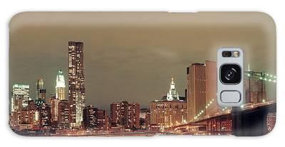 Manhattan Downtown Galaxy Case
