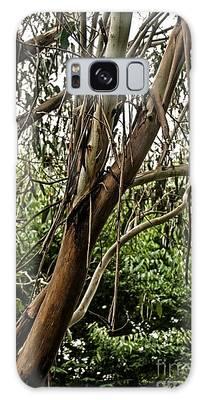 Gum Tree In Grunge Galaxy Case