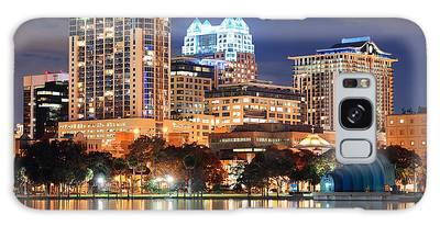 Orlando Downtown Architecture Galaxy Case