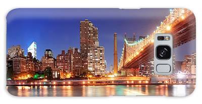 Queensboro Bridge And Manhattan Galaxy Case