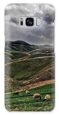 The Lord Is My Shepherd Judean Hills Israel Galaxy Case