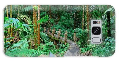Tropical Rain Forest In San Juan Galaxy Case