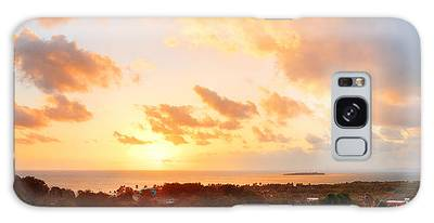 San Juan Sunrise Galaxy Case