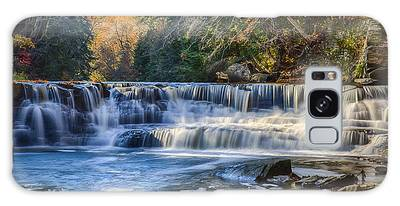 Squaw Rock - Chagrin River Falls Galaxy Case