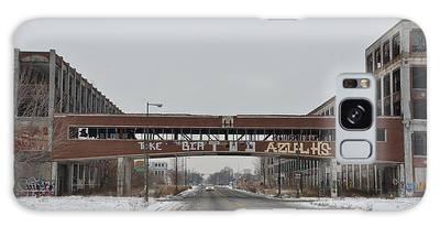 Detroit Packard Plant Galaxy Case