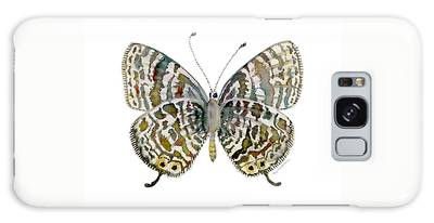 51 Lang's Short-tailed Blue Butterfly Galaxy Case