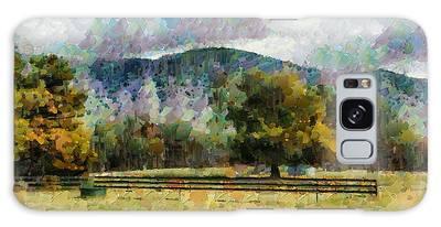 Araluen Valley Views Galaxy Case