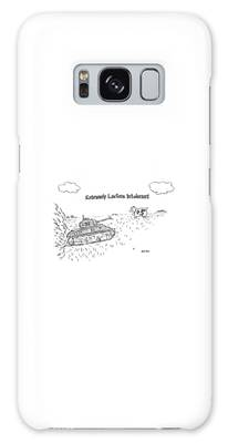 Pasture Drawings Galaxy Cases