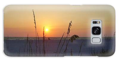 Galaxy Case featuring the photograph A Florida Sunset by Cynthia Guinn