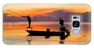 Fishing Boat Galaxy Cases