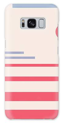 Abstract Minimalistic Landscape Galaxy Case