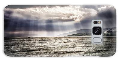 After The Storm Sea Of Galilee Israel Galaxy Case