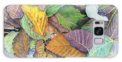 Alder Leaves And Faerie Galaxy Case