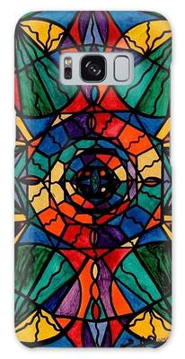Sacred Geometry Galaxy Cases