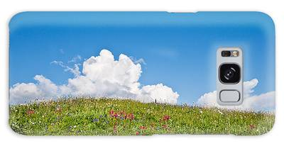 Alpine Meadow And Cloud Formation Galaxy Case