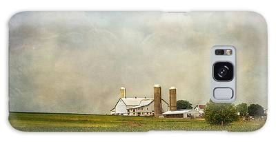 Amish Farmland Galaxy Case