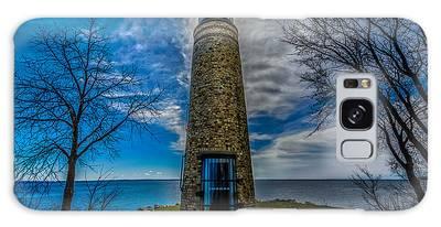 Asylum Point Lighthouse Galaxy Case
