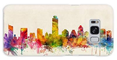 Austin Texas Skyline Galaxy Case