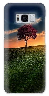 Sunset Galaxy Cases