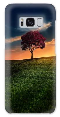 Tree Photographs Galaxy Cases