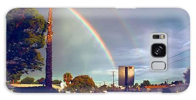 Back To School Rainbow Galaxy Case
