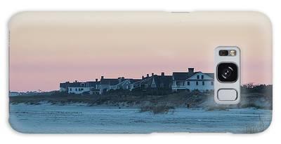 Galaxy Case featuring the photograph Beach Houses by Cynthia Guinn