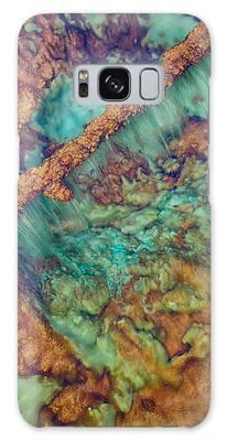 Beautiful Rebar Hot Springs Galaxy Case