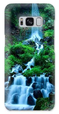 Beautiful Waterfalls In Karuizawa Japan Galaxy Case