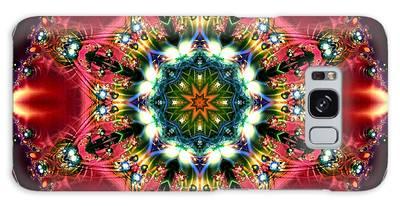 Bejewelled Mandala No 2 Galaxy Case