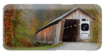 Bennett Mill Covered Bridge Galaxy Case