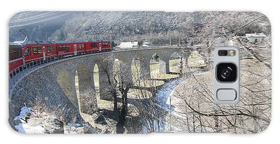 Photograph - Bernina Express In Winter by Travel Pics