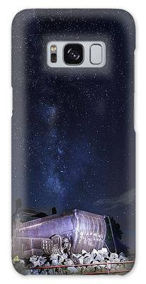Big Muskie Bucket Milky Way And A Shooting Star Galaxy Case