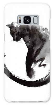 Black And White Cats Galaxy S8 Cases
