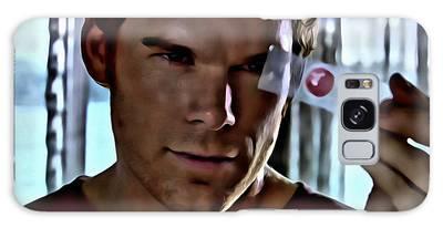 Blood Slide Dexter Galaxy Case