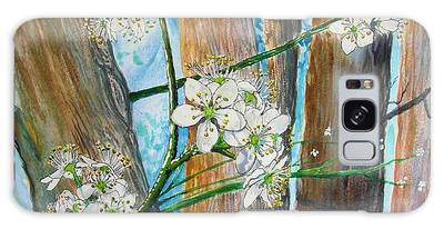 Blooms Of The Cleaveland Pear Galaxy Case