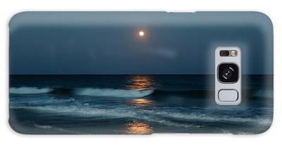 Galaxy Case featuring the photograph Blue Moon by Cynthia Guinn