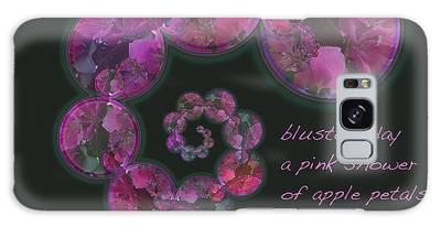 Blustery Day Haiga Galaxy Case