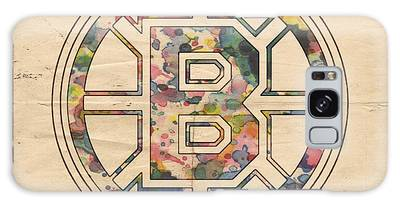 Boston Bruins Poster Art Galaxy Case