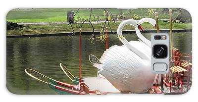 Swan Boats Photographs Galaxy Cases