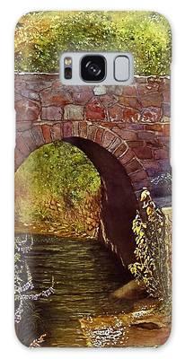 Bridge At Manitou Springs Galaxy Case