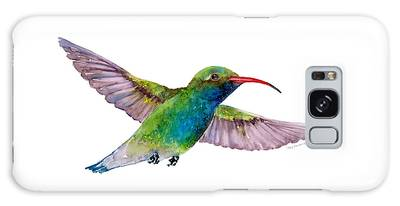 Broad Billed Hummingbird Galaxy Case