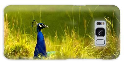 Bronx Zoo Peacock Galaxy Case