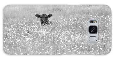 Buttercup In Black-and-white Galaxy Case