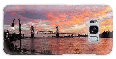 Galaxy Case featuring the photograph Cape Fear Bridge by Cynthia Guinn