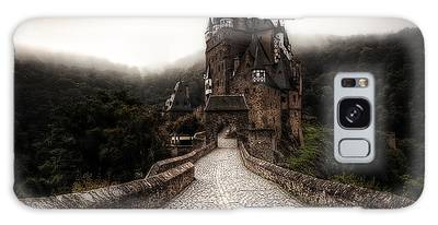 Galaxy Case featuring the photograph Castle In The Mist by Ryan Wyckoff