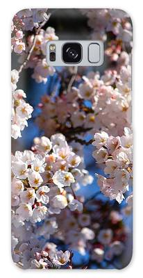Cherry Blossoms And Blue Sky-2 Galaxy Case