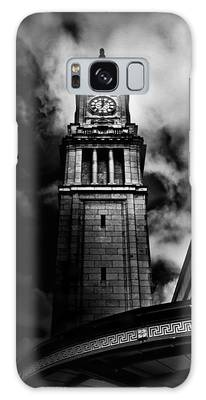Galaxy Case featuring the photograph Clock Tower No 10 Scrivener Square Toronto Canada by Brian Carson