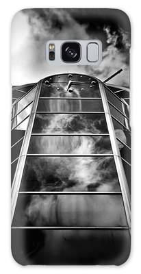 Galaxy Case featuring the photograph Clock Tower No 1920 Yonge St Toronto Canada by Brian Carson