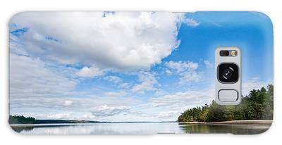 Clouds Reflected In Puget Sound Galaxy Case