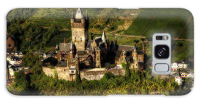 Galaxy Case featuring the photograph Cochem Castle by Ryan Wyckoff